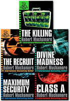 CHERUB Series 1 Collection 5 Books Set by Robert Muchamore The Recruit, Class A