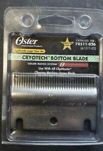 Oster Pro Cryotech Bottom Blade ClipMaster 78511-026 61511-02 84AU