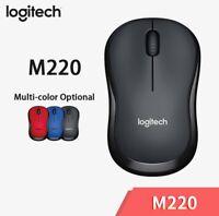 Logitech M220 Mice Silent Mouse 2.4 GHz Wireless USB for Mac OS Windows 10/8/7