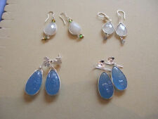 Butterfly Handmade Moonstone Fine Earrings