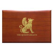 Queen's Beast Box Münzbox Kassette für 10x 10 Oz Unzen Silbermünzen Silber GB