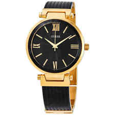 Guess Black Sunray Dial Ladies Watch W0638L10