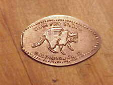 Bass Pro Shops. Boling Ill. .Racoon .On All Copper Cent.