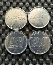 Capcom Plaza Arcade Amusement Token/Coin Street Fighter Rare Collectible LOT 4