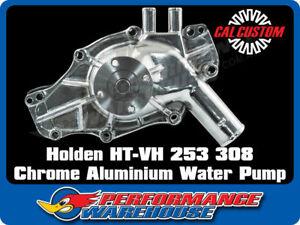 HOLDEN HT-VH 253 308 EARLY CHROMED ALUMINIUM WATER PUMP