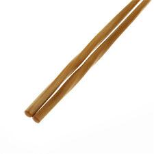 1 pair Natural Wavy Wood Chopsticks Chinese Chop Sticks Reusable Food Sticks EP