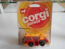 Corgi Juniors Mobile Crane in Red/Orange on Blister