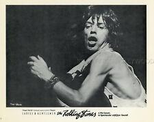 MICK JAGGER LADIES AND GENTLEMEN THE ROLLING STONES 1973 PHOTO ORIGINAL #6
