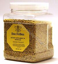 BEE POLLEN 100% Pure Organic Bee Pollen Granules 1 lb FDA Certified