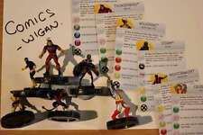 Marvel Heroclix Uncanny X-MEN # #001#002#003#004#006#021 XMEN team set