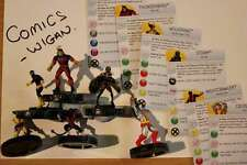 Marvel Heroclix Uncanny X-men # #001#002#003#004#006#021 Xmen Equipo Set