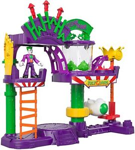 Fisher-Price GBL26 Imaginext DC Super Friends The Joker Laff Factory Playset,