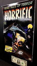 3-D Horrific No 7 Cover Art Poster 11x17