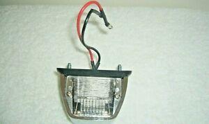 Lucas L860 Chrome License Lamp--for MGB, MG Midget,Triumph Spitfire,Aston Martin