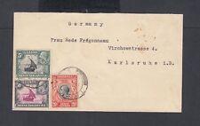 Kenya, Uganda circa 1936 George V Cover Tanganyika To Karlsruhe Germany