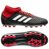 Adidas Predator 18.3 AG Football Boots Black/Red | UK9 |Astro/Artificial/Grass
