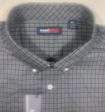 Roundtree & Yorke Travel smart mens size 3XLT tall long sleeve oxford shirt NWT