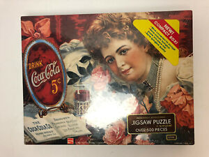 Vintage Springbok 1985 Drink Coca-Cola 500 Piece Jigsaw Puzzle Factory Sealed