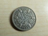 George V Sixpence 6D Silver Coins Choose your date 1910-1936 Choice