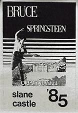 Bruce Springsteen-Slane Castle,Ireland 01/06/1985 vintage concert poster repro