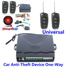 One Way Car Anti-Theft Device Centrol Door Keyless Entry Remote Alarm System Kit