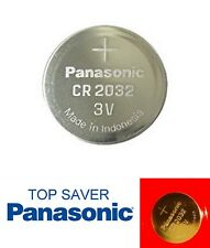 Panasonic CR2032 3v Lithium Coin Cell Battery Car Key Fobs Toys Remote Batteries