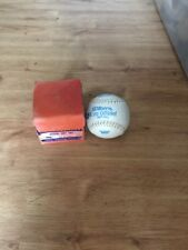 Vintage Wilson Sports Equipment Official Soft Ball And Box