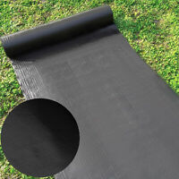 1.83x91.4m Weedmat Weed Mat Woven Ground Cover Barrier Landscape Fabric