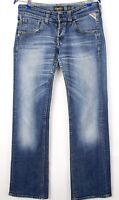 Replay Hommes Slim Jeans Jambe Droite Taille W32 L34 AVZ267