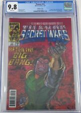 Marvel Thanos #13 Lenticular Cover CGC 9.8 Donny Cates 1st Cosmic Ghost Rider