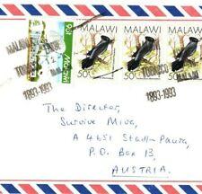 MALAWI Cover Limbe *TOBACCO* Cancel MISSIONARY 1993 {samwells}EB135