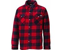 Dickies Portland Padded Work Shirt Lumberjack Casual Shirt SH5000 Red Size S-4XL