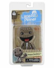 "Little Big Planet Happy Sackboy 5"" action figure sealed new in box NECA"