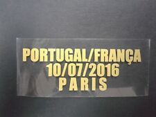 Portugal Vs France EURO 2016 FINAL GOLD match details FREE SHIPPING