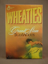WHEATIES CEREAL FULL BOX TIGER WOODS GRAND SLAM CHAMPION GOLF