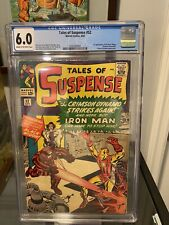 Marvel Tales Of Suspense #52 1st Appearance Black Widow CGC 6.0 CR/OW Pages 4/64