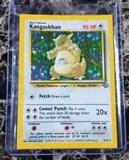 Pokemon Square Cut Kangaskhan! Jungle Set 5/64 Holo READ DESCRIPTION