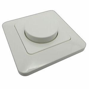 LED 10-200W Dimmer Dimmschalter Dreh-Dimmer LEDs & Trafo Drehdimmer