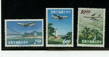 China #C73-C75 (CH548) Comp 1963 Plane over Scenic Views, MNH, VF