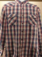English Laundry John Lennon Men's long sleeve Shirt Checked  XL