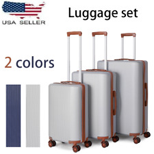 Hardside Lightweight Luggage With Spinner Wheels,3pcs Set (20/24/28) US