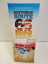 HISTORIC ROUTE 66 TRAVEL ROAD MAP CHICAGO TO LA 95th  2021 EDITION! BEST GUIDE!!