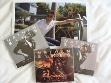 Bundle: Nathan Sykes : Give It Up 3CD Singles & SIGNED A4 Print