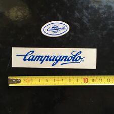 VINTAGE CAMPAGNOLO STICKERS BLUE ADESIVI