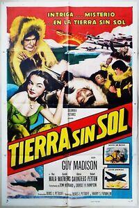 Red Snow 1952 Guy Madison, Ray Mala & Eskimos! Spanish/US One Sheet Poster