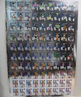 MAXI Poster DRAGON BALL Z cm. 68 x 95 cartoncino argentato tanti personaggi
