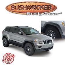 Bushwacker Black Pocket- Style Fender Flares 11-19 Jeep Grand Cherokee 4pc Set