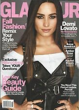 Glamour Magazine Demi Lovato Fall Fashion Low Key Beauty Guide Hillary Clinton