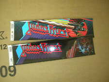 Judas Priest Bumper Sticker Lot Of 2 Licensed By Funky 1983 1984 Vintage