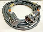 25 ft SOCO Socapex 19 Pin Lighting Power Extension Cable 14 AWG USED